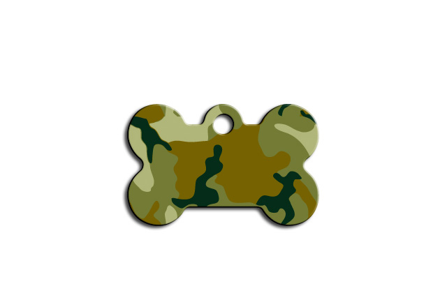 Premium - Small Bone Green Camo